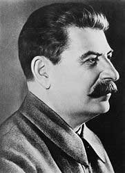 Joseph V. Stalin. Photo courtesy of Wikipedia.