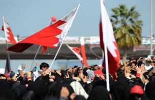 Bahrain: ngày 16 tháng 2, 20011, sang ngày thứ 3, người Bahraini thuộc phái Hồi Giáo Shiti tiếp tục biểu tình