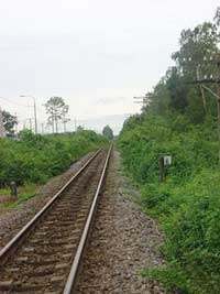 Đường sắt Bắc - Nam hiện nay. Photo courtesy of Wikipedia.