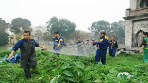 """Tập trung công tác bảo vệ """"Cụ Rùa"""" Source Vietnamnet"""