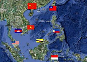 Các quốc gia có phần nào quyền lợi ở Biển Đông. Source uschina-institude