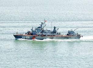 Tàu pháo TT400TP do Việt Nam sản xuất đã được chính thức nghiệm thu ngày 27/9.VNdefense