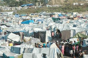 """Tent City"" ở Haiti"