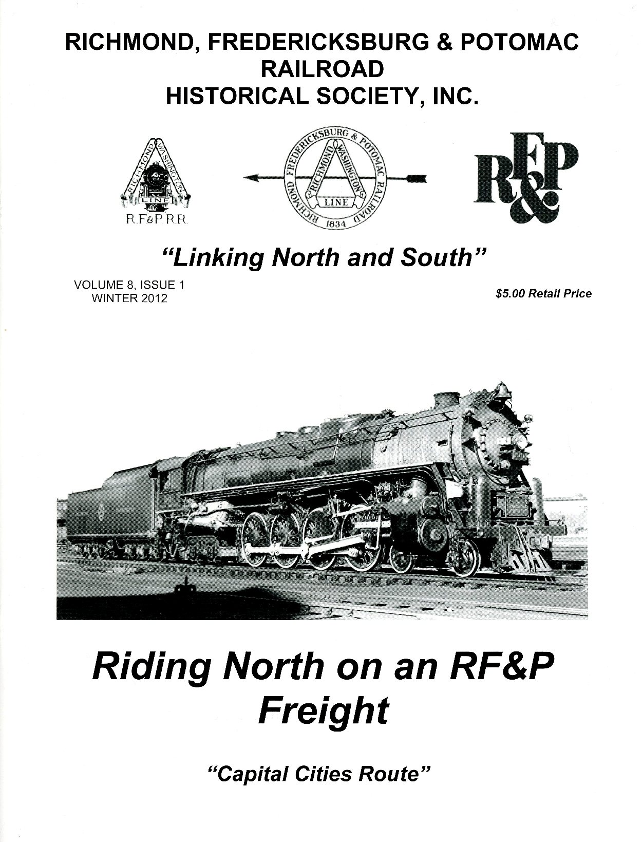 Official Site Of The Richmond Fredericksburg Amp Potomac Railroad Historical Society Inc