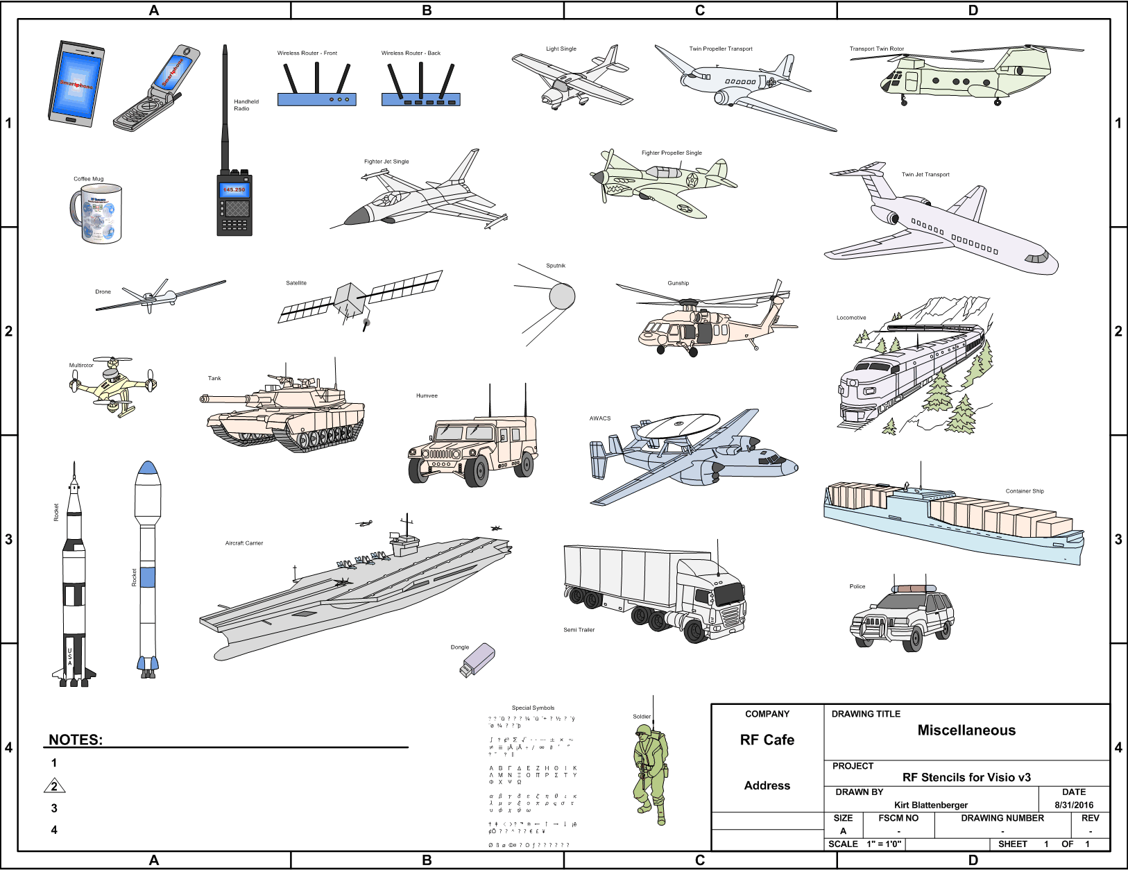 hight resolution of  airplanes ships rockets trains wireless devices visio stencils rf cafe