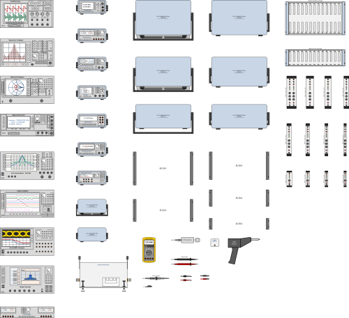 small resolution of test equipment visio stencils rf cafe