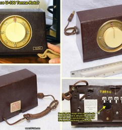 vintage alliance u 100 tenna rotor control box rf cafe [ 1208 x 898 Pixel ]