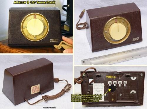 small resolution of  vintage alliance u 100 tenna rotor control box rf cafe