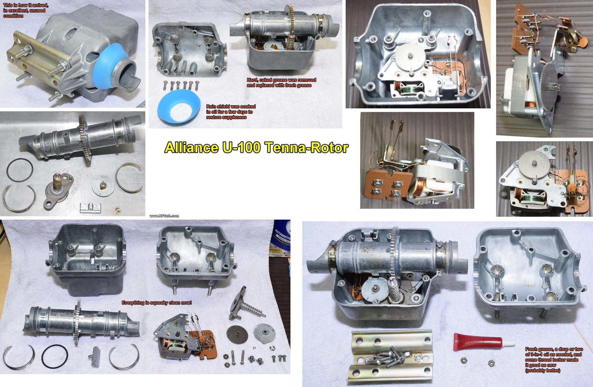 hight resolution of vintage alliance model u 100 tenna rotor installation kirt s cogitations 301
