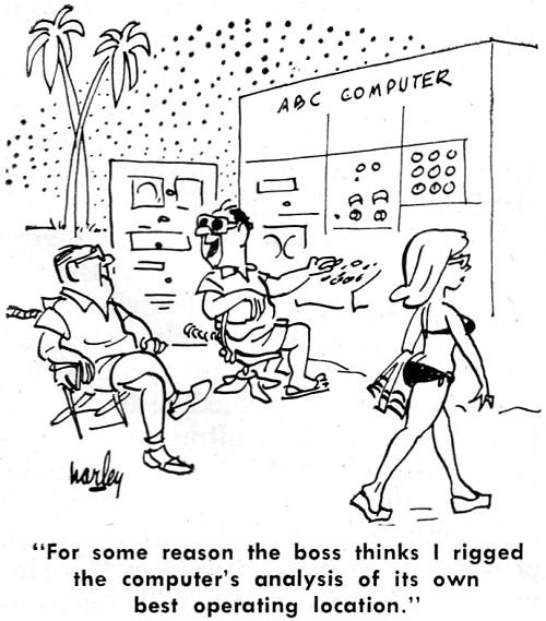 Electronics-Themed Comics from January 1963 Electronics