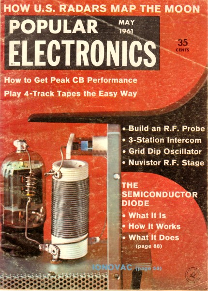 Carl Amp Jerry Operation Worm Warming May 1961 Popular Electronics RF Cafe