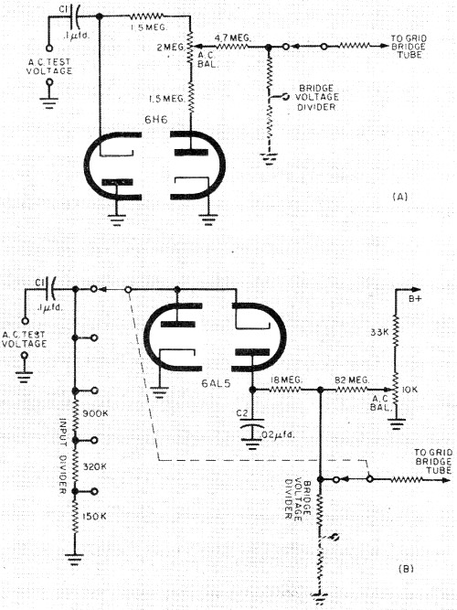 Ohmmeter: Ohmmeter And Voltmeter Schematic