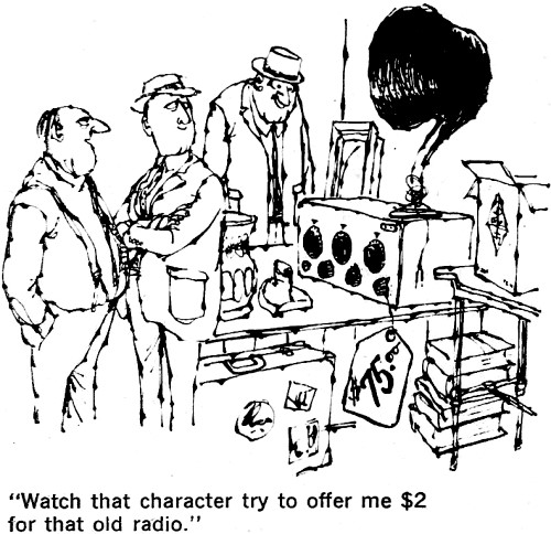 Comics: Ye Antique Radio Collector, October 1964 Popular