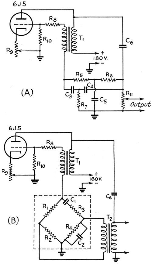 audio test oscillator