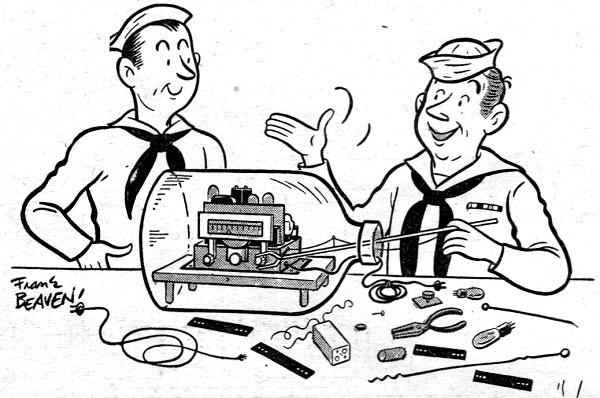 Electronics Themed Comics, September 1945 & December 1947