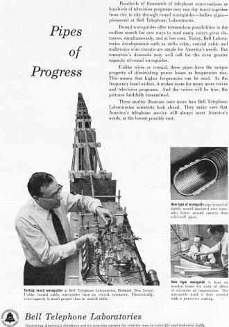 Bell Telephone Laboratories, June 1955 Radio & Television