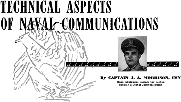 Technical Aspects of Naval Communications, December 1950