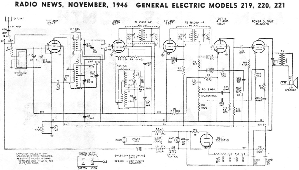 medium resolution of ge radio schematic wiring diagram for you ge radio schematic