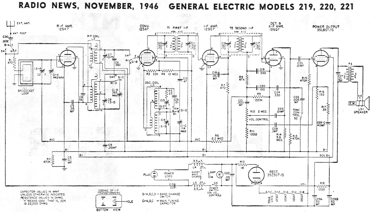 hight resolution of ge radio schematic wiring diagram for you ge radio schematic