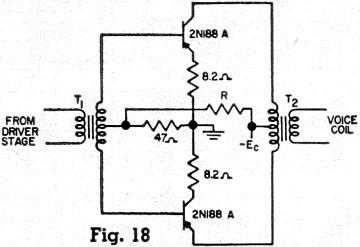 Negative Feedback Transistor Amplifiers, May 1957 Radio