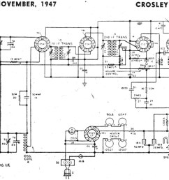 crosley wiring diagram wiring diagram name charging circuit diagram for the 1947 52 crosley all 4 [ 1200 x 753 Pixel ]