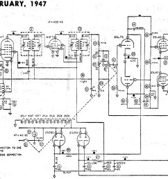 eca model 108 schematic parts list february 1947 radio news rf cafe schematic for model nightingale model a schematics [ 1404 x 817 Pixel ]