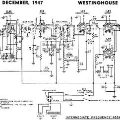 Ge Motor Wiring Diagram Full Wave Bridge Rectifier Westinghouse Model H-133 Schematic & Parts List, December 1947 Radio News - Rf Cafe