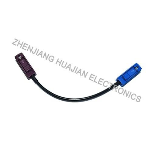 FAKRA Jack Connector A~Z Straight Type Crimp/Solder