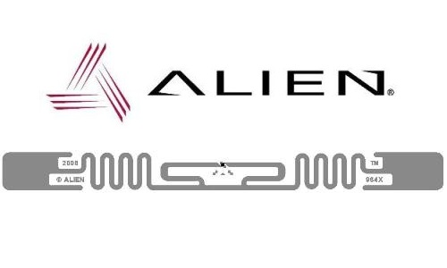Alien ALN 9640 Squiggle Inlay RFID UHF