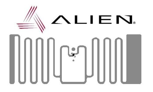 HiScan Inlay RFID UHF - Alien ALN 9720