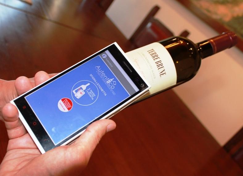 Autentico - NFC per anticontraffazione vino