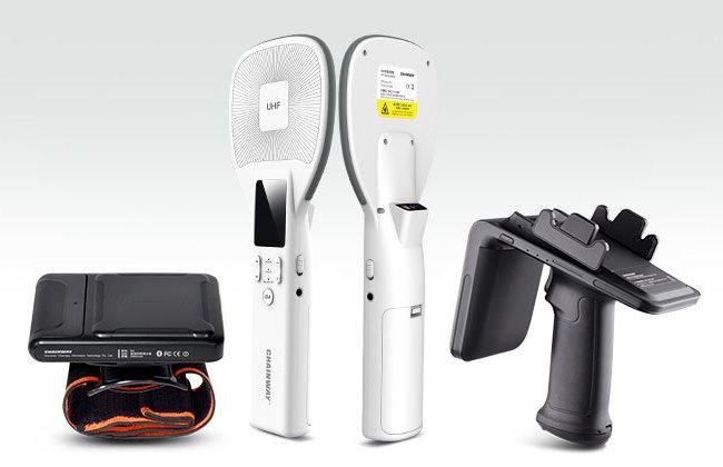 R2 -R5 - R6 Reader mobili Bluetooth RFID UHF per Android & IoS