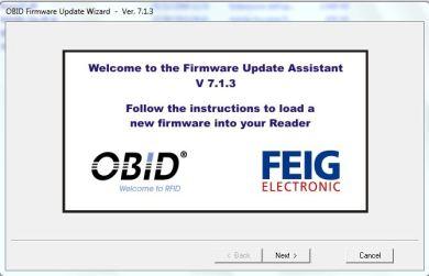 Firmware Update Tool Feig