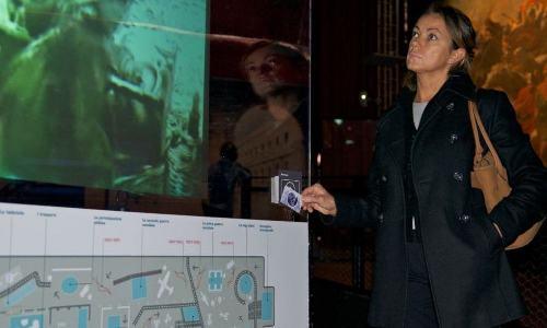 RFID nella mostra Fare gli Italiani - Torino 2011