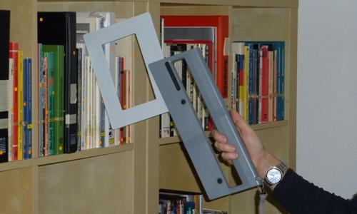RFID Mobile Reader HF ISC.PRH200 Blade - Inventari e ricerca libri, CD/DVD e documenti in librerie e archivi