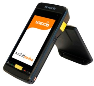 Mobile Computer Nordic ID Medea RFID UHF Cross Dipole with Bluetooth, WLAN a/b/g/n, 2D imager, touchscreen 4,3""