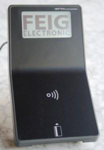 OBID myAXXESS onTop-S - Contact Contacless Card Reader