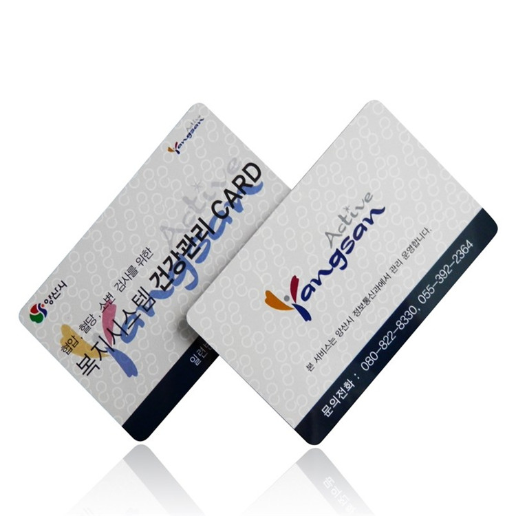 ISO18000-6 EPC UHF Passive RFID Cards With Impinj M4QT ...