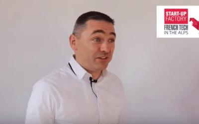 Julien Vinay, présente SUPPLY-TRACK® une innovation RFIT pour connecter sa logistique à l'activité de ses clients et avoir une logistique fluide, tirée par la demande.
