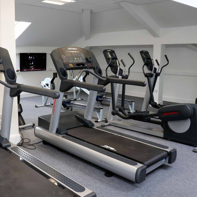 Emerald office gym