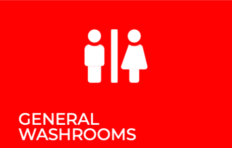 COSHH Red RFM Group General Washrooms