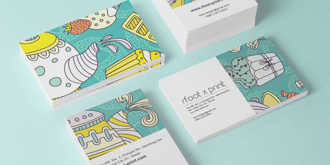 名片印刷 - 右腳設計印刷 rfoot x print