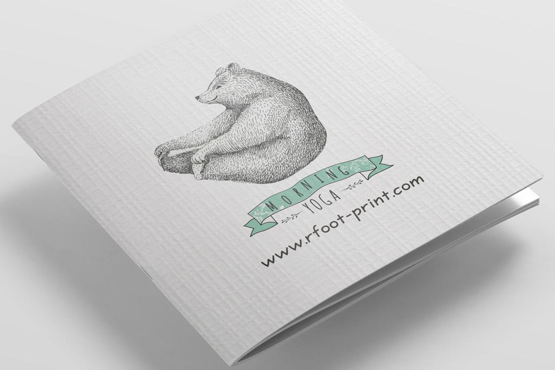 5K獨立版名片海報DM印刷 - 右腳設計印刷 rfoot x print
