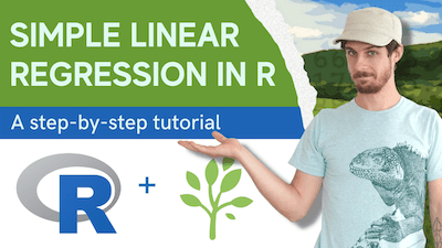 Video thumbnail of tutorial on linear regression