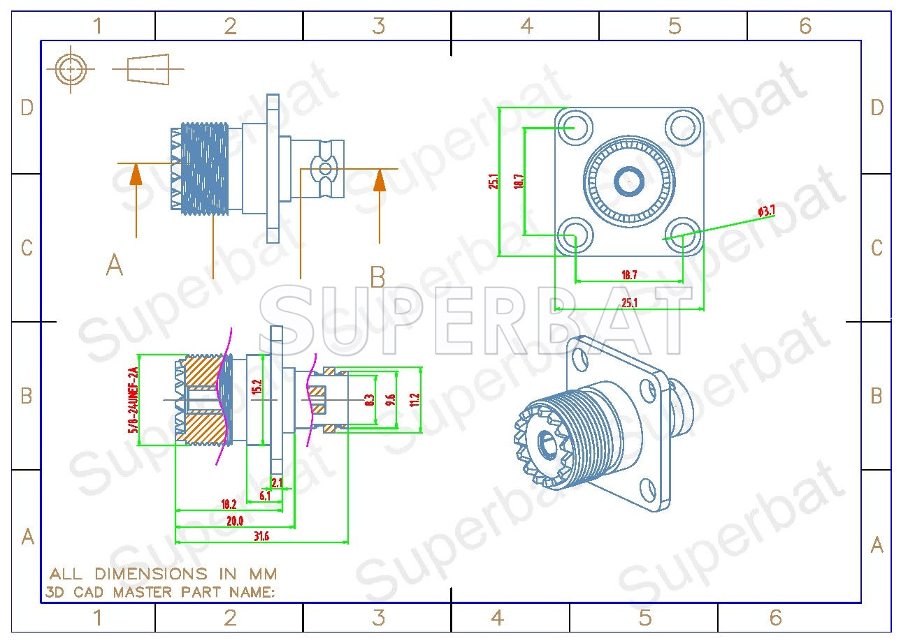 hight resolution of  rf coaxial coax handheld radio antenna adapter bnc female to uhf female so239 so 239