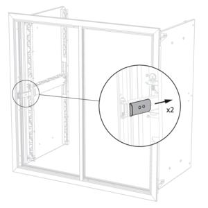 Avantage smoke evacuation shutter, single (1V) shutter unit.