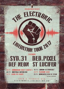 TELT Poster lite 214x300 - The Electronic Liberation Tour