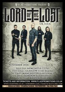 lord of the lost 2018 uk tour newcastle