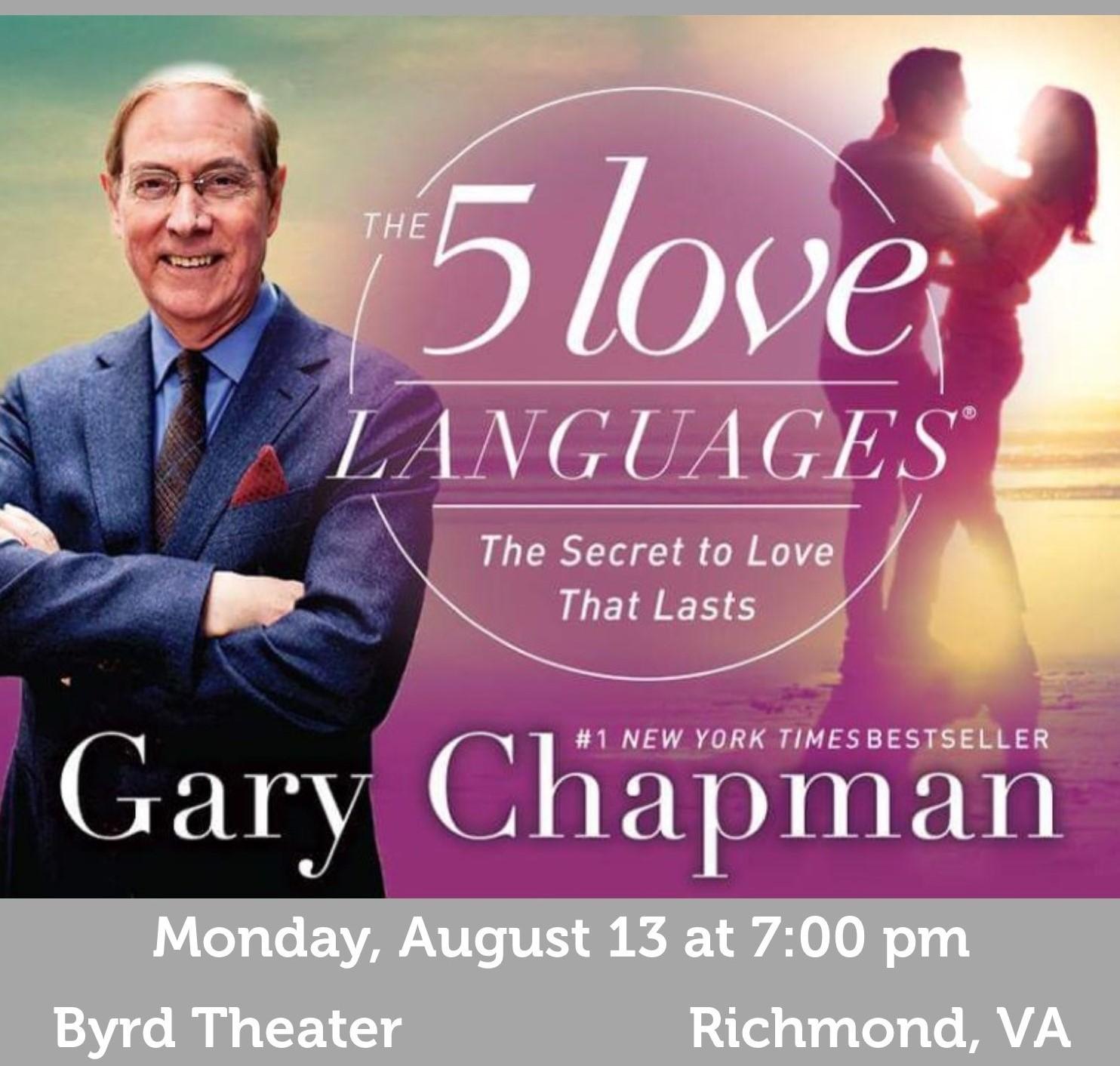 Date Night Gary Chapman And The 5 Love Languages Rfva