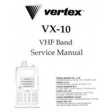 E07009002 VX-10 Paper Service Manual for the Vertex